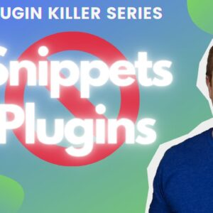 How To Use Code Snippets Without A Plugin In Wordpress