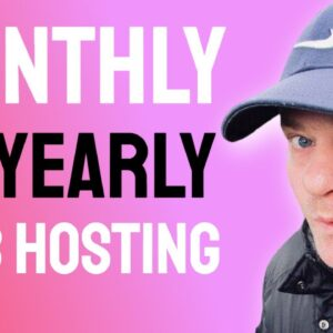 Should I get Monthly or Yearly Web Hosting Plan