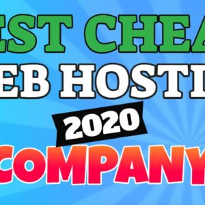 The Best CHEAP Web Hosting Companies (2020) Get Best Discount Here