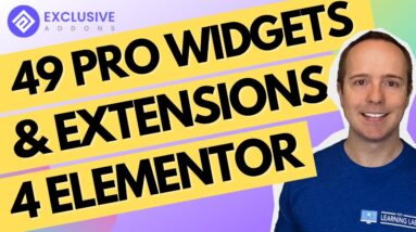 49 Pro Elementor Widgets & Extensions For Elementor By Exclusive Addons For Elementor