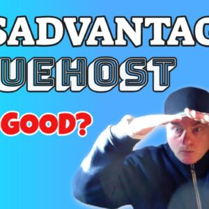 What are the Disadvantages of BlueHost Web Hosting?